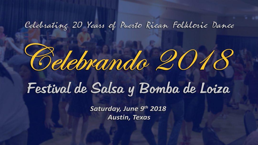 Celebrando 2018 – Festival de Salsa y Bomba de Loíza